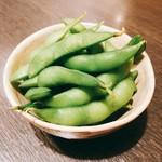 味噌おでん くろさわ - 美しい枝豆