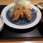 97061217 - カキフライ定食