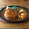 水嶋 - 料理写真:ハンバーグ