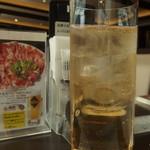 上野精養軒 - (2018年11月)アップルワイン・リタ・ハイボール