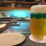 時分時 - 生ビール  520円