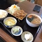 名古屋 - 料理写真:平日パワーランチ  しょうが焼きランチ