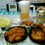 ケンタッキーフライドチキン - 料理写真:夕飯です