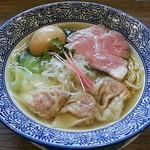 97068713 - 【(限定) 海老ワンタン麺】¥1000