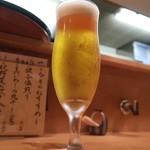 浜町 ふじ田 - 生ビール