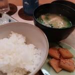 浜町 ふじ田 - ご飯セット600円