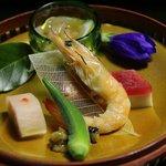 9707214 - 夕飯:季節の前菜