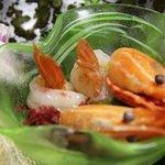 9707313 - 夕飯:季節の魚盛り合わせ(右)