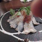 イタリアン カフェ&ワインバル GB 立川店 - 白身魚のカルパッチョ