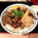 六三郎 - 煮込み丼(大盛り)