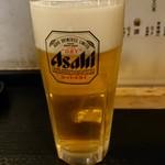 鳥清 - 2018年11月 とりあえずセット(生ビール) 1000円