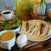 ポワール - 料理写真:モーニング「サンドイッチセット」