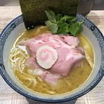 中華そば 四つ葉 - 気まぐれ限定「地鶏と鰹の白湯」900円