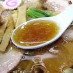 とら食堂 松戸分店 - 焼豚ワンタン麺