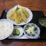 さくらや - 地魚フライ定食 940円