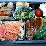 ベントス - 料理写真:角煮ときのこご飯弁当500円