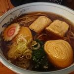 魚要 - 元祖湯波そば 並盛(¥1,200円)