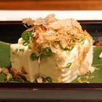 酒肴 新屋敷 - 阿部豆腐店 やっこ豆腐