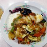 中華料理 八龍 - 中華丼