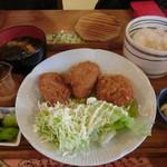 えん処 こばく亭 - 信州こめ豚ヒレカツ定食