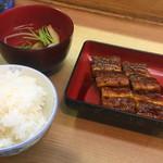 川淀 - 蒲焼定食・特上(2700円)