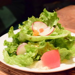 グルガオン - 【グルガオンディナー@税込2,900円】グルガオン サラダ
