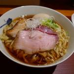 麺 みつヰ - 醤油大盛り味玉950円