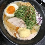 Ramen光鶏 - 鶏白湯味噌ジンジャー