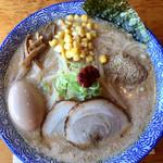 門つる - 「味玉白味噌ラーメン」980円+「麺大盛り」100円