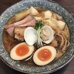 Ramen611 - 特製蛤中華蕎麦 ワンタン3コトッピング