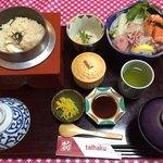 レストラン大博 - 釜飯の定食