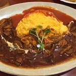 レストラン大博 - オムライス