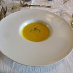 アマルフィイ・モデルナ - 本日のスープ:カボチャのポタージュ