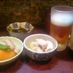 波浮港 - 料理写真:強制のお通し