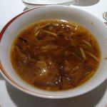 龍天門 - 山海珍味入りふかひれスープ