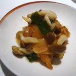 龍天門 - 豚トロの葱生姜炒め