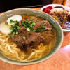 沖縄そば やんばる - 料理写真:ソーキそば・ミニカレー