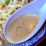 門つる - コクがあって、大変美味いスープでした。