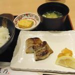 はかた天乃 - 銀ダラ味噌定食(850円)