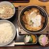 大橋屋 - 料理写真:かつ鍋定食  1,050円