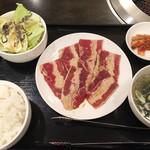 焼肉マスターキッチン - マスター定食(650円)