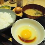 うちのたまご - 料理写真:たまごかけご飯(520円)