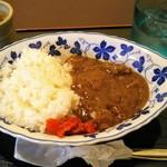 半六サロンしゅまん - 知多牛ビーフカレー600円