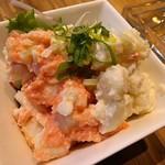 うどん×ちょい呑み 川崎うどん - 二色のポテトサラダ