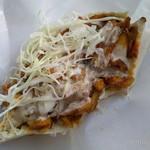 サバラン ケバブ - チキンピタ・肉ダブル