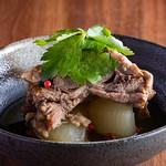 肉の炭火焼と土鍋ごはん だんらん居酒家HANA - コトコト煮込んだ牛タンおでん