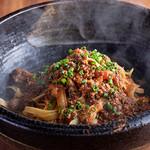 肉の炭火焼と土鍋ごはん だんらん居酒家HANA - 肉屋のラグーパスタ