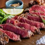 肉の炭火焼と土鍋ごはん だんらん居酒家HANA - リブアイ炭火焼ステーキ