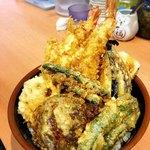 天ぷら 豊野 - 黄金丼