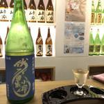 97114211 - 京の夏純米。日本酒度が-30ぐらいだったか…驚くべき甘口。